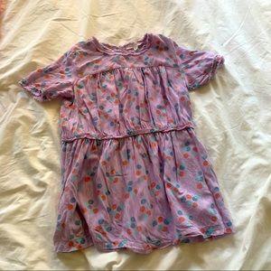 Caramel baby and child London purple dress size 4
